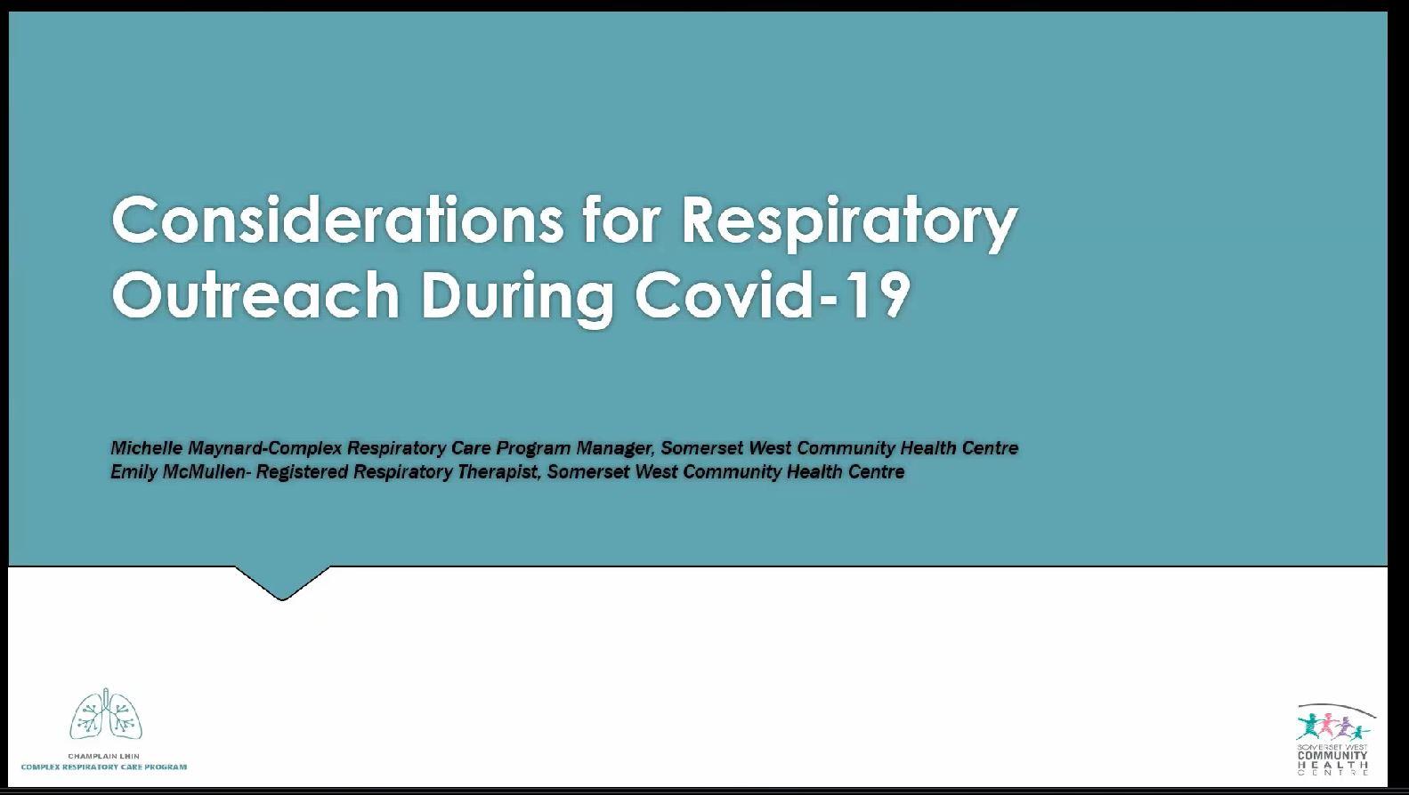 Considerations-COVID-19