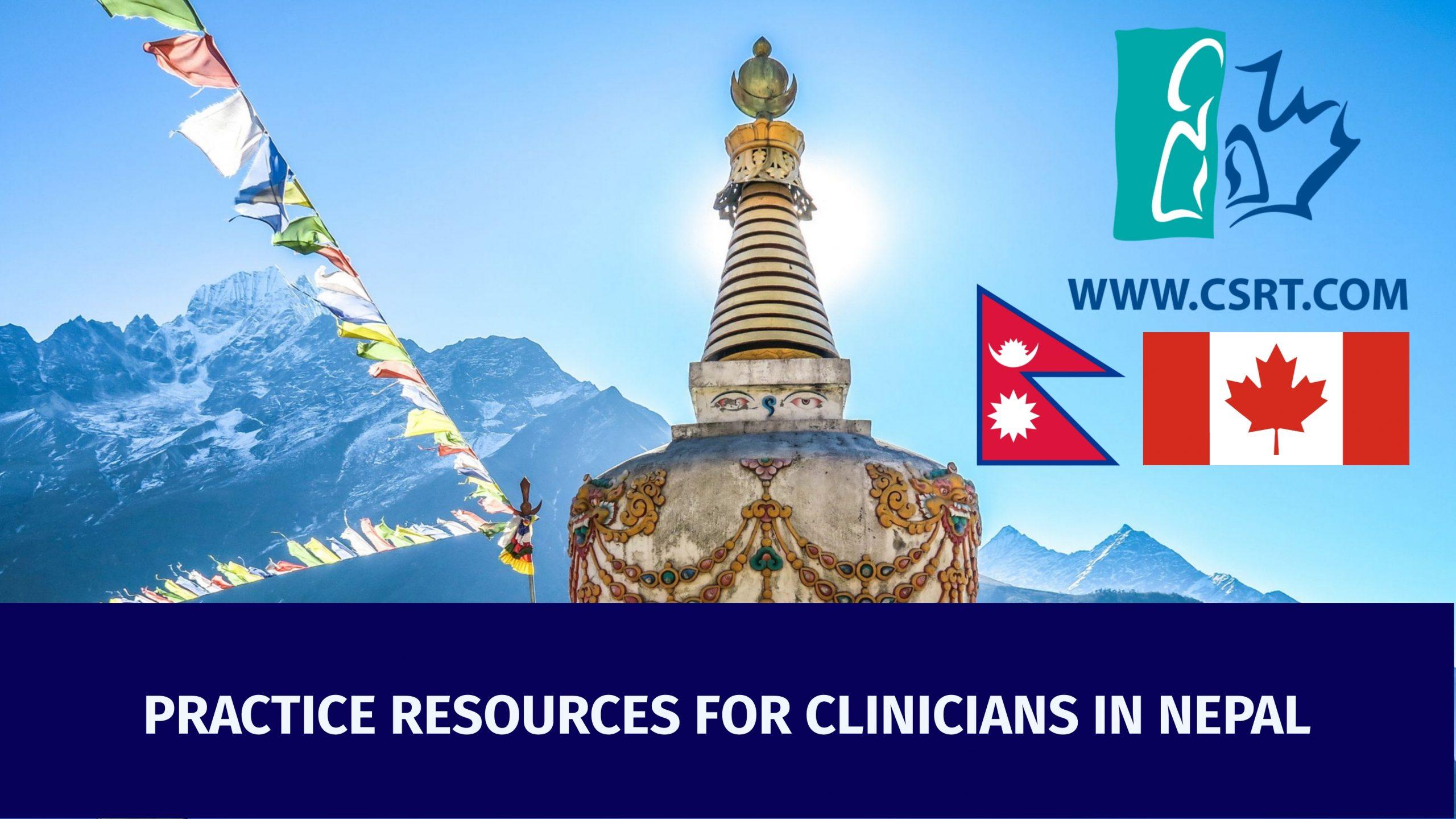 CSRT International Pandemic Resources – Nepal